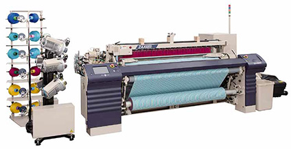 How to Change the Operation of Air-Jet Loom When Weaving Glass Fiber